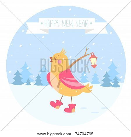 bird new year
