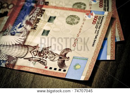 Money Of Kazakhstan tenge