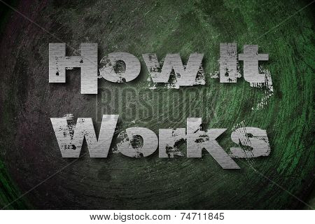 How It Works Concept