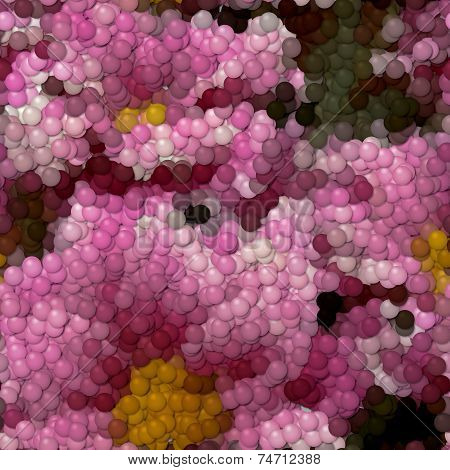 Flowers Image Balls Generated Hires Texture