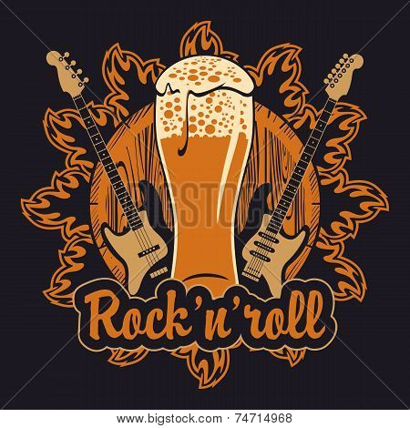 Beer and rock'n'roll