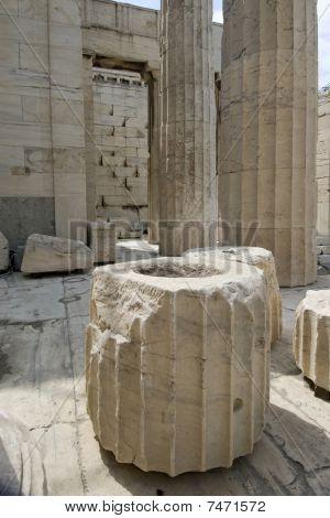 Propylaea Gates In Acropolis