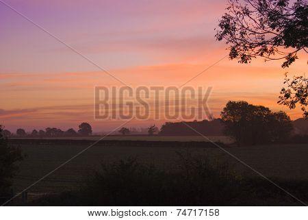 Misty Dawn in Suffolk