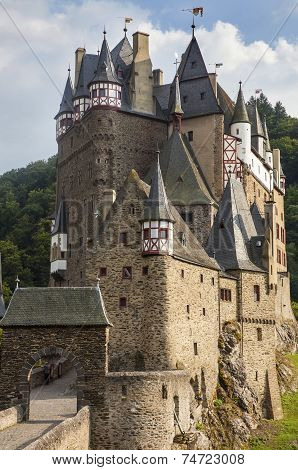 Medieval Castle, Burg Eltz, Germany