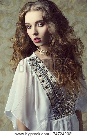Sensual Antique Woman