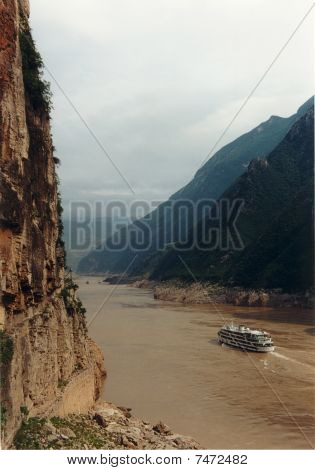 gorge of Yangtze river