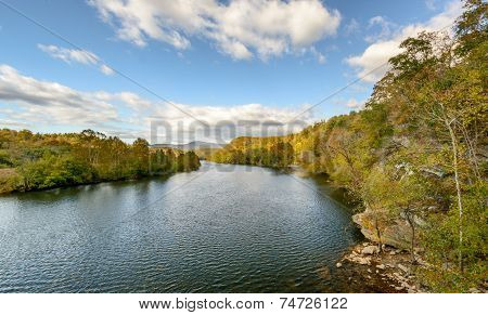 James River in the Blue Ridge Mountains