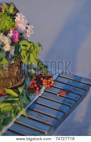 cloudberries on the table