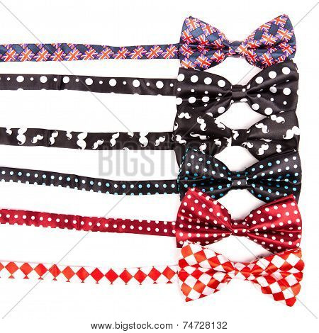 Set The Bow Ties In Different Colors