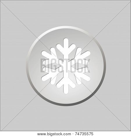Snow Button