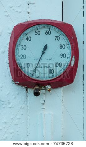 Old Air Pressure Gauge