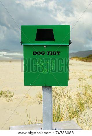Green Disposal Bin