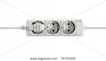 Electric socket, vector object