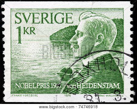 Von Heidenstam Stamp