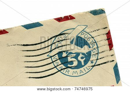 Ancient Airplane Stamp