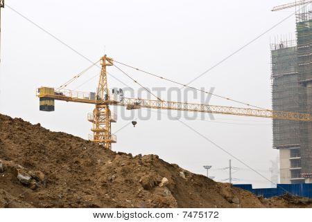 beschäftigt Baustelle