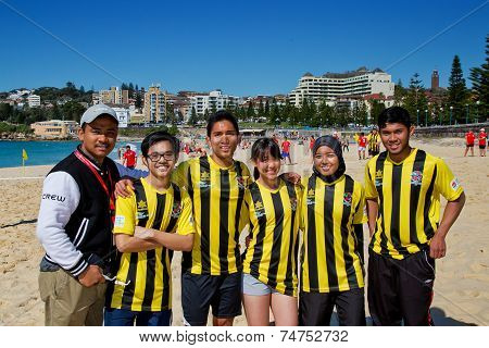 Malaysian students in Sydney soccer comp