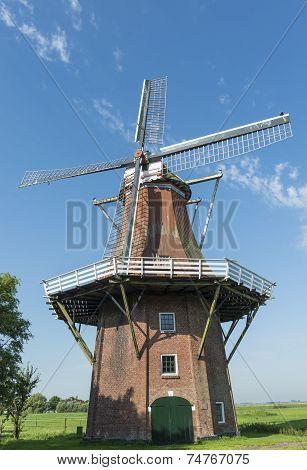 Mill In Middelstum