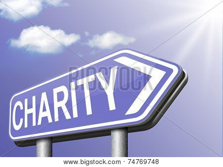 charity gift donation donate for a good cause help by giving donation