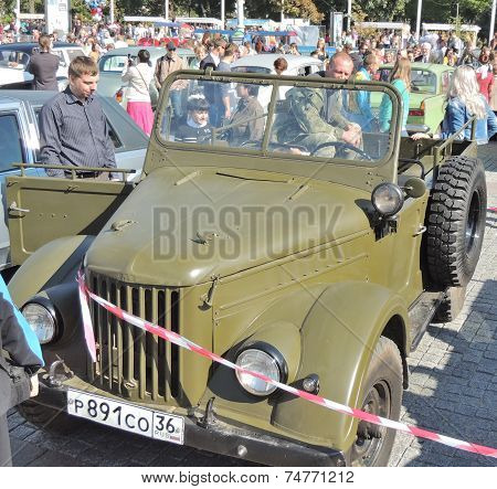 Military Vehicle Gaz-69