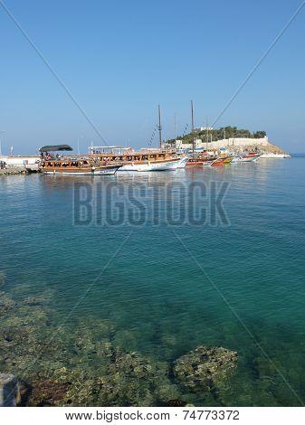 Tourist Boats, Kusadasi