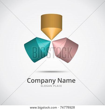 Abstract Cone Logo