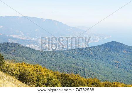Black Sea And South Coast Of Crimea