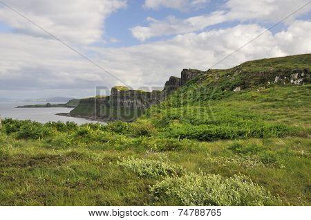 Cliffs South Of Kilt Rock