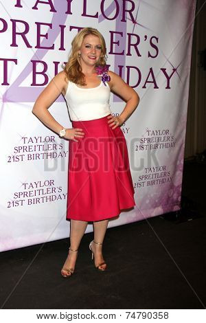 LOS ANGELES - OCT 25:  Melissa Joan Hart at the Taylor Spreitler's 21st Birthday Party at the CBS Radford Studios on October 25, 2014 in Studio City, CA