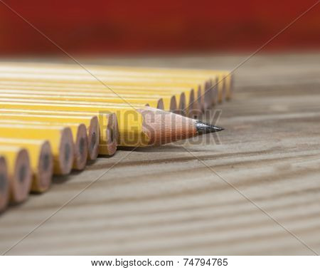 One sharp pencil macro