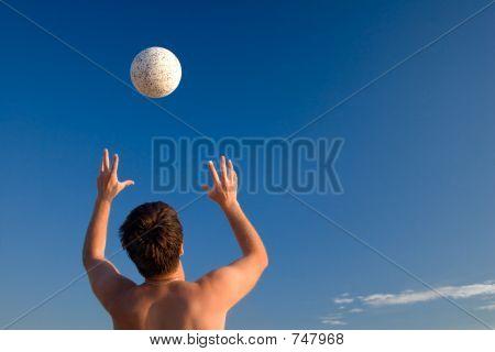 Hands & ball