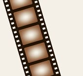picture of strip  - Background from negative film strip - JPG