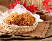 pic of southern fried chicken  - fried chicken in breast - JPG