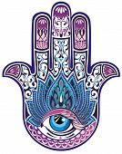 image of jesus sign  - Hamsa hand - JPG