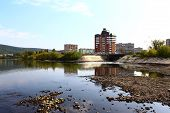 stock photo of kan  - View of the embankment Zelenogorsk - JPG