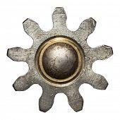 foto of cogwheel  - Machine gear - JPG