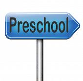 picture of playgroup  - preschool education kindergarten nursery school or playgroup