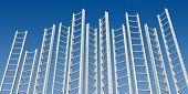 pic of step-ladder  - Corporate Ladders - JPG