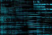 foto of spyware  - Abstract computer programming code as technology background - JPG