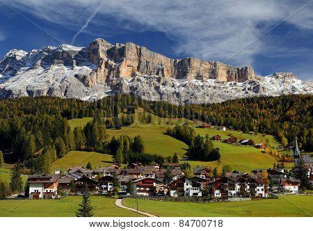 Alta Badia in the Dolomites, Italy, Europe