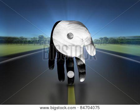 Yin Yang Hand