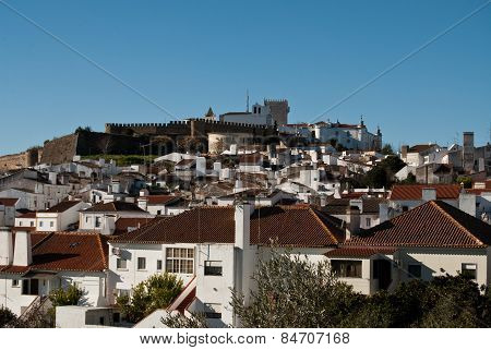 View Of Old Portugese City -estramuz