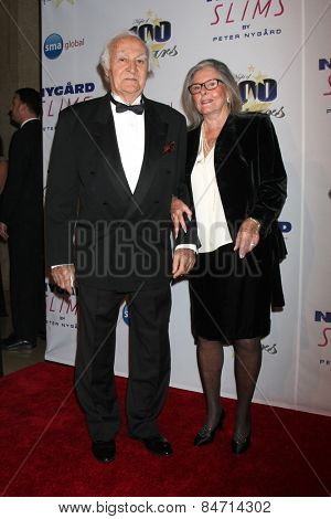 LOS ANGELES - FEB 22:  Robert Loggia, Audrey Loggia at the Night of 100 Stars Oscar Viewing Party at the Beverly Hilton Hotel on February 22, 2015 in Beverly Hills, CA