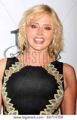 LOS ANGELES - FEB 22:  Estella Warren at the Night of 100 Stars Oscar Viewing Party at the Beverly Hilton Hotel on February 22, 2015 in Beverly Hills, CA