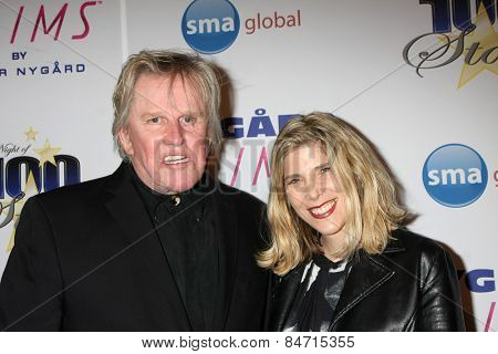 LOS ANGELES - FEB 22:  Gary Busey at the Night of 100 Stars Oscar Viewing Party at the Beverly Hilton Hotel on February 22, 2015 in Beverly Hills, CA