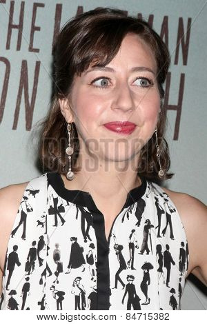 LOS ANGELES - FEB 24:  Kristen Schaal at the