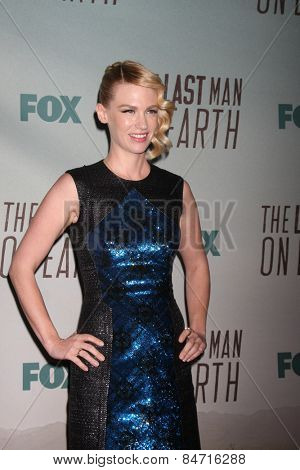 LOS ANGELES - FEB 24:  January Jones at the
