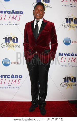 LOS ANGELES - FEB 22:  Jermaine Jackson at the Night of 100 Stars Oscar Viewing Party at the Beverly Hilton Hotel on February 22, 2015 in Beverly Hills, CA