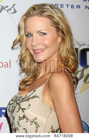 LOS ANGELES - FEB 22:  Josie Davis at the Night of 100 Stars Oscar Viewing Party at the Beverly Hilton Hotel on February 22, 2015 in Beverly Hills, CA