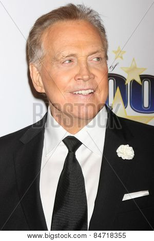 LOS ANGELES - FEB 22:  Lee Majors at the Night of 100 Stars Oscar Viewing Party at the Beverly Hilton Hotel on February 22, 2015 in Beverly Hills, CA